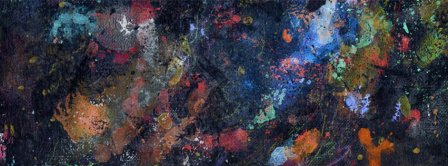 Abstract Artistic Painting 2 Facebook Covers