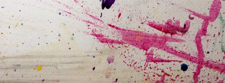 Abstract Artistic Pink Painting  Facebook Covers