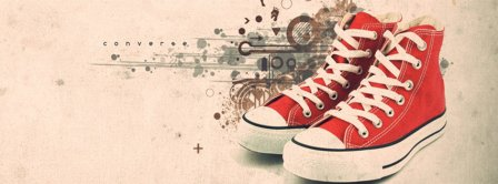 Abstract Artistic Shoes  Facebook Covers