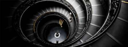 Abstract Artistic Stairs  Facebook Covers