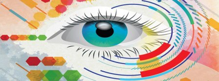 Abstract Eye Facebook Covers