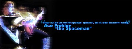 Kiss Ace Frehley The Spaceman Facebook Covers