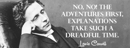 Adventures First Lewis Carroll Facebook Covers