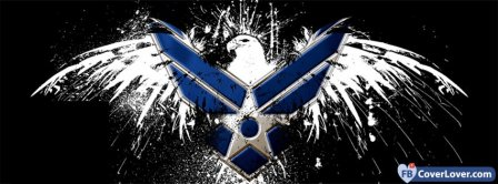 Air Force Eagle Logo Facebook Covers