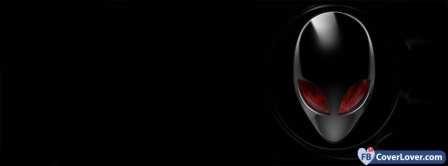 Alienware Black Facebook Covers