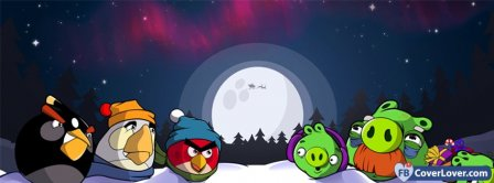 Angry Birds 6  Facebook Covers