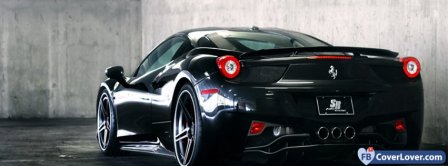 Ferrari F458 Facebook Covers