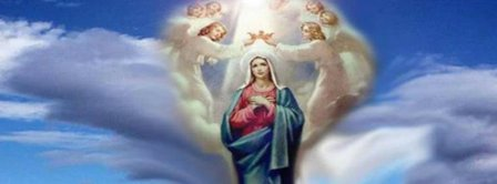 Assumption Of Holy Mother Of God Virgin Mary Facebook Covers