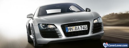 Audi R8 Blur  Facebook Covers