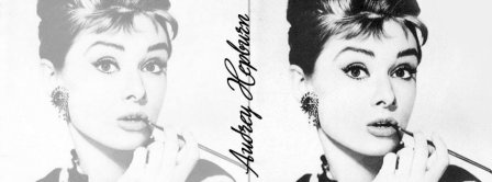 Audrey Hepburn Facebook Covers