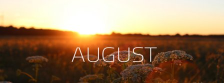 August Sunset Facebook Covers
