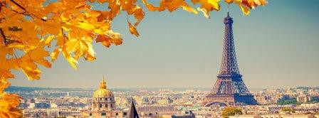 Auntumn In Paris Facebook Covers