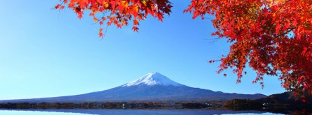 Autumn Mount Fuji 1 Facebook Covers