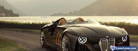 BMW Concept Car Cabriolet Facebook Covers