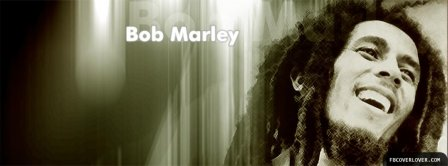 Bob Marley Smiling Facebook Covers