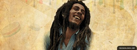 Bob Marley Laughing Facebook Covers