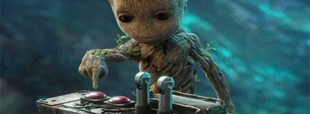 Baby Groot Guardians Of The Galaxy Vol 2 Bomb Button Facebook Covers
