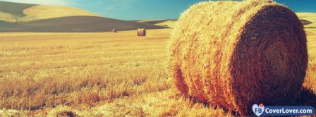 Bail Of Hay Landscape Facebook Covers