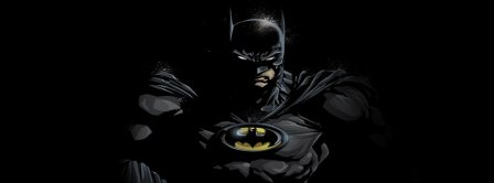 Batman In The Night Facebook Covers