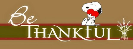 Be Thankful Facebook Covers