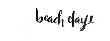 Beach Days Facebook Covers