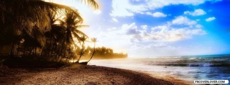 Beach Holiday View Facebook Covers