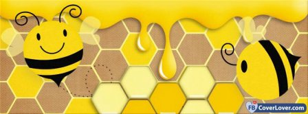 Bees And Honey Facebook Covers