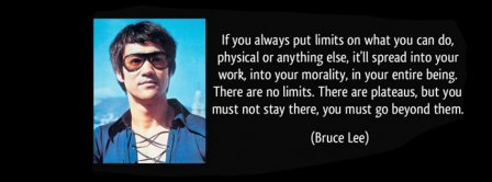 Beyond Limits Bruce Lee Facebook Covers