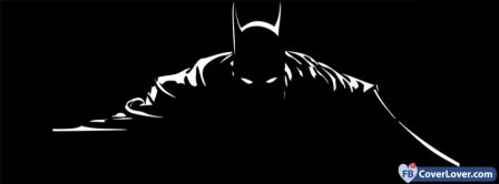 Black And White Batman  Facebook Covers