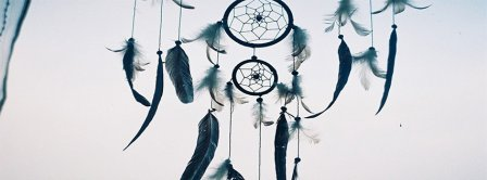 Blue Dream Catcher Facebook Covers