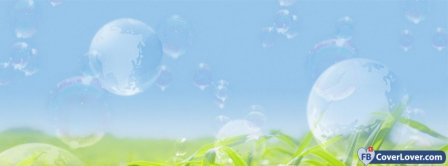 Bubbles Nature Facebook Covers