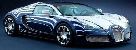 Bugatti Veyron Grand Sport Car Facebook Covers
