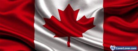 Canada Flag 2 Facebook Covers