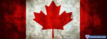 Canada Flag 3 Facebook Covers