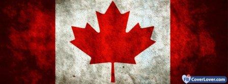 Canada Flag 3 Facebook Covers