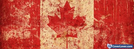 Canada Flag 4  Facebook Covers