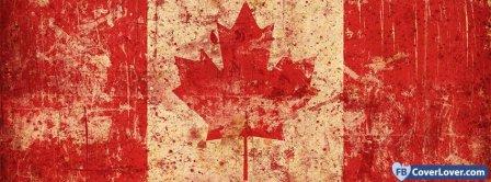 Canada Flag 4  Facebook Covers