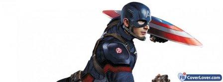 Captain America  Facebook Covers
