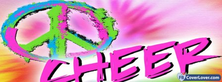 Peace Cheer  Facebook Covers