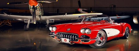 Chevrolet Corvette 1959 Facebook Covers