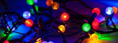 Choosing Christmas Lights  Facebook Covers