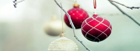 Christmas Tree Ornaments  Facebook Covers