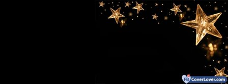 Christmas Stars  Facebook Covers
