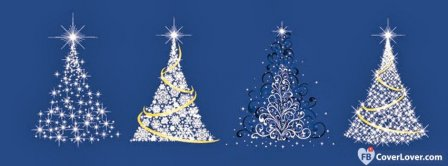 Christmas Trees  Facebook Covers