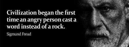 Civilization Quote Sigmund Freud Facebook Covers