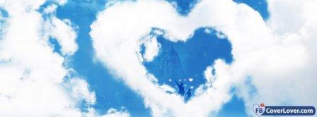 Cloud Heart  Facebook Covers