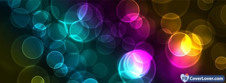 Colorful Bubbles  Facebook Covers