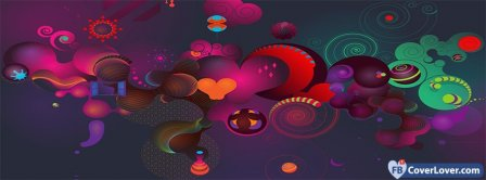 Colorful Design  Facebook Covers
