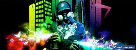 Colorful Graffiti Facebook Covers