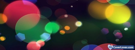 Colorful Lights  Facebook Covers